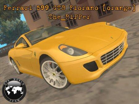 Ferrari 599 GTB Fiorano (orange)