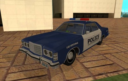1975 Ford Custom 500 4dr Police