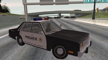 1978 Ford Fairmont 4dr Police
