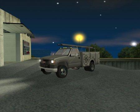 GMC 3500 Utility Truck