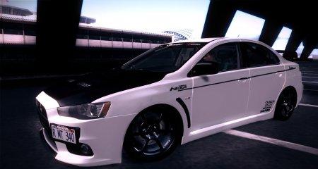 Mitsubishi Lancer Evolution X 2008 Tunable