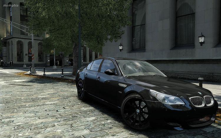 BMW M5 e60.  Просмотров: 1294 Загрузок: 406 Добавил: Lashin Дата.  Моды машин GTA 4.