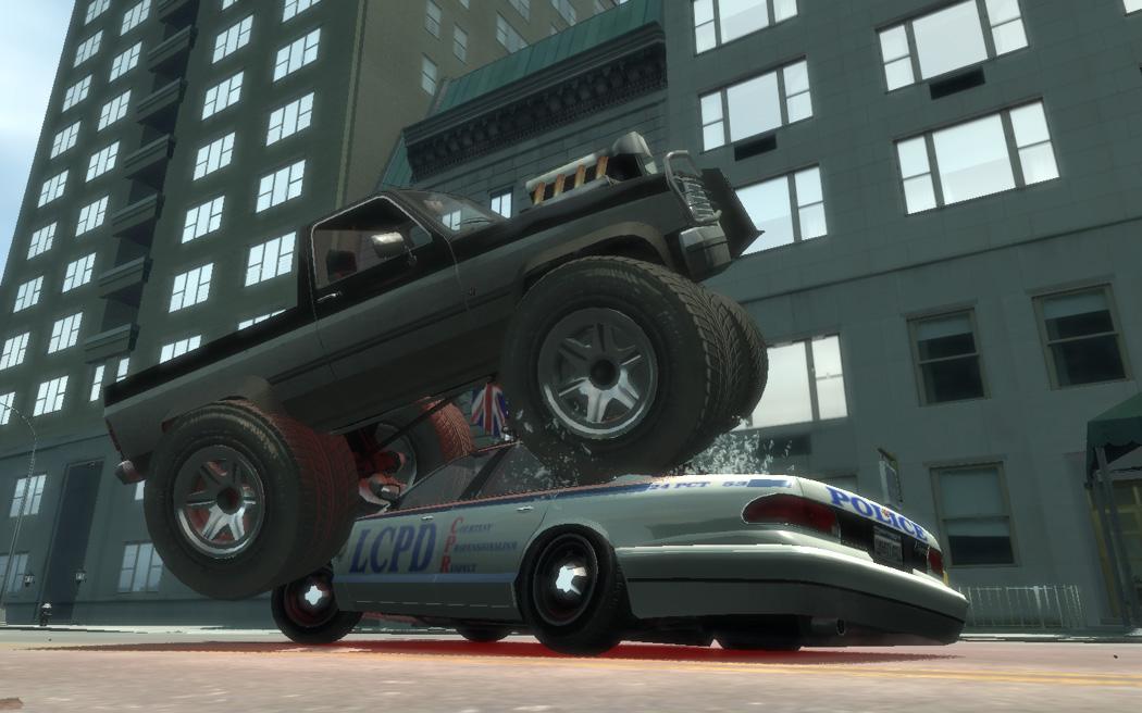 09.07.2009. Monster Truck - покорите…