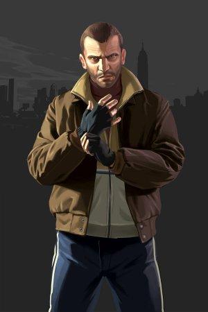 Арти GTA 4 з персонажами