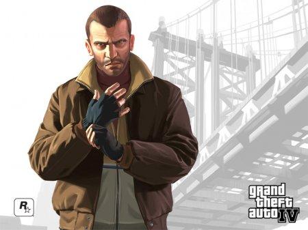 Офіційні шпалери GTA IV з персонажами