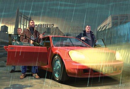 Арти з сюжетом GTA IV
