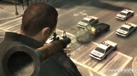 Gamespot пише про зброю у GTA IV