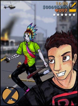 Фан-арт на тему Grand Theft Auto III