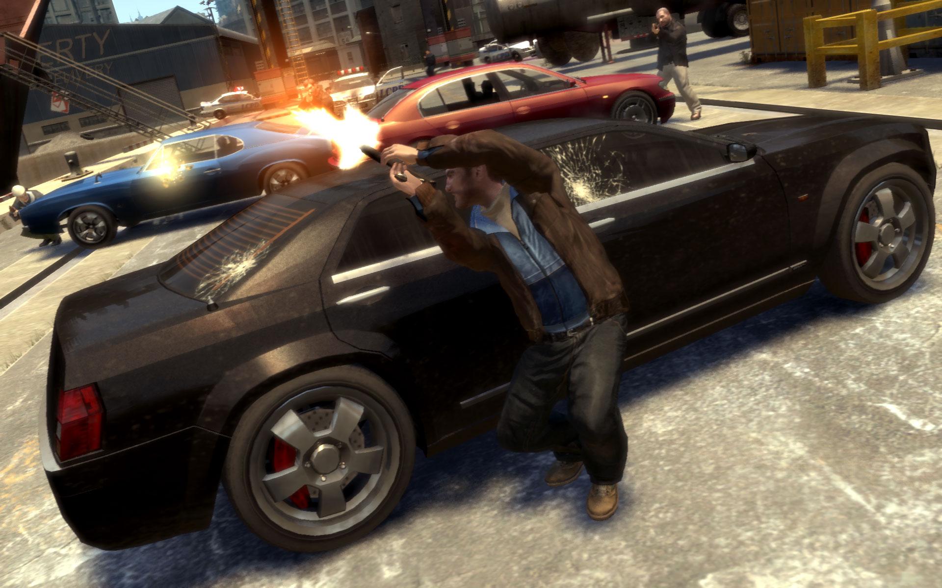 Новые скрины GTA 4 на PC.