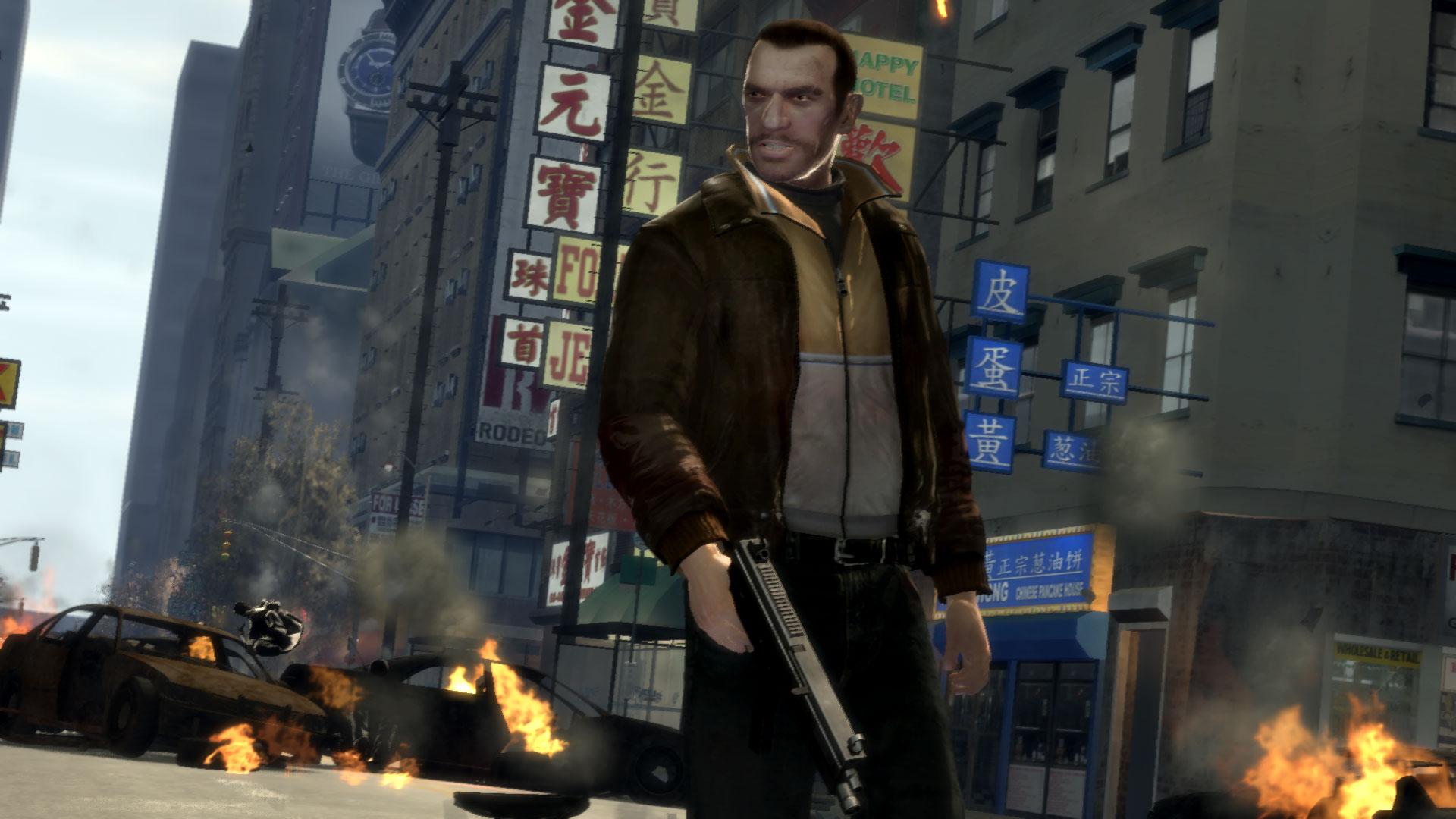 Скачать 6 новых скриншотов PC-версии GTA 4 для GTA бесплатно.