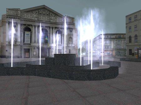 У Львові з'явилися затори і фонтан