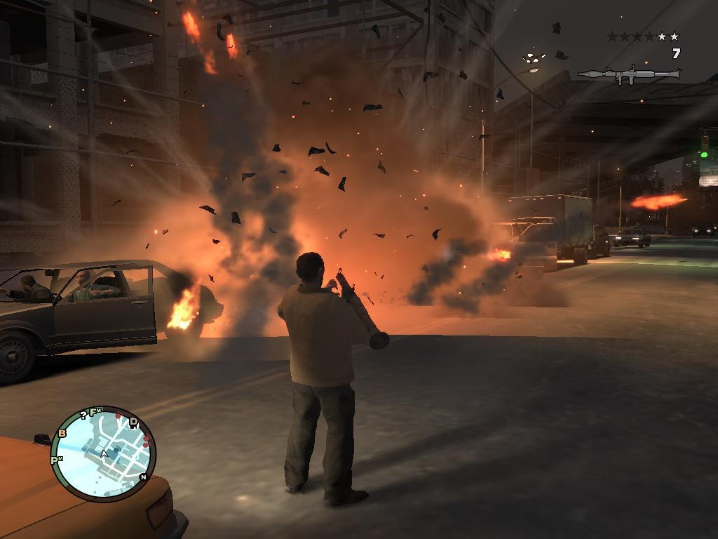 Скриншот 2 к GTA 4 / Grand Theft Auto IV (2008) PC 4xDVD5.