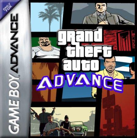 Фан-артська обкладинка до GTA: Advance