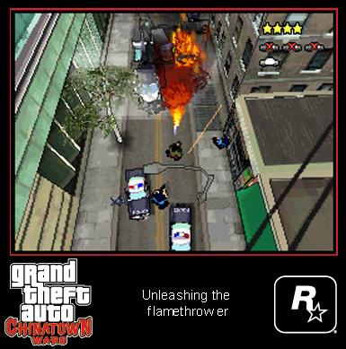 Скріншоти GTA: Chinatown Wars - частина 1