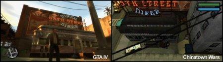 Ландшафти Міста Свободи у GTA IV та Chinatown Wars
