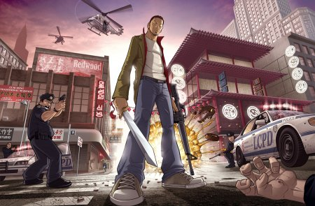 Аматорський артворк до GTA: Chinatown Wars