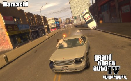 Grand Theft Auto IV Multiplayer (lan) UA (hamachi)