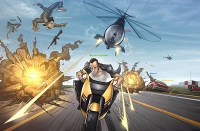 Комікс GTA IV від Патріка Брауна