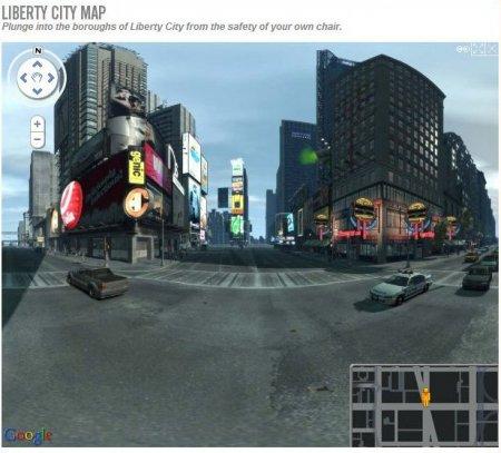 GTA IV: жива мапа Міста Свободи