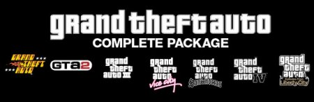 Повна колекція GTA для PC продається у Steam