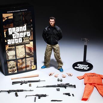 Лімітоване видання до ювілею GTA 3: фігурка Клода