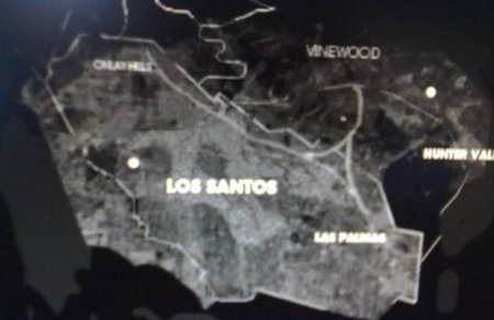 Карта місцевості GTA V?