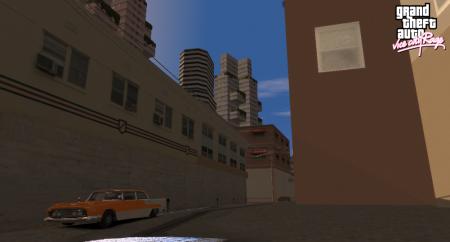 І трохи скрінів Vice City Rage