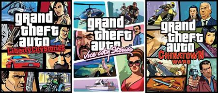 Розпродаж ігор для PSP від Rockstar