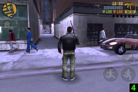 Поради з проходження мобільної GTA III від розробників