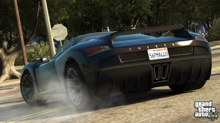 Нові скріншоти GTA V (транспорт)