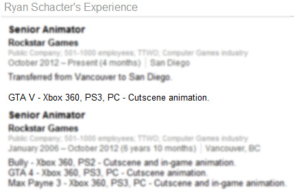 Новини про вихід GTA 5 на ПК від аніматора Rockstar