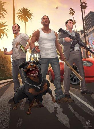 Патрік Браун представляє: GTA 5 - Протистояння