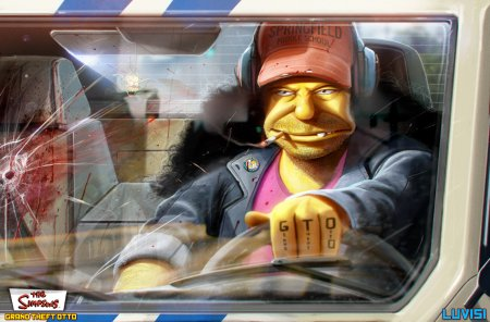 GTA? GTO! Фанатське переусвідомлення історії Сімпсонів