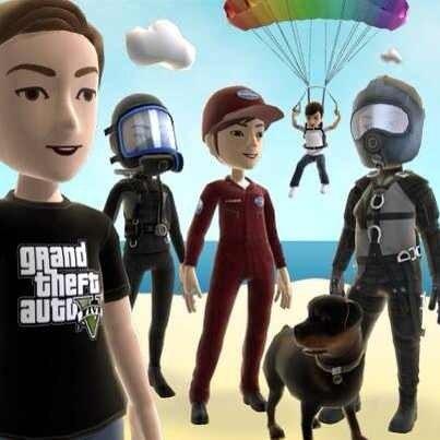 Оновлення Xbox Marketplace - одяг для аватарів в стилі GTA 5