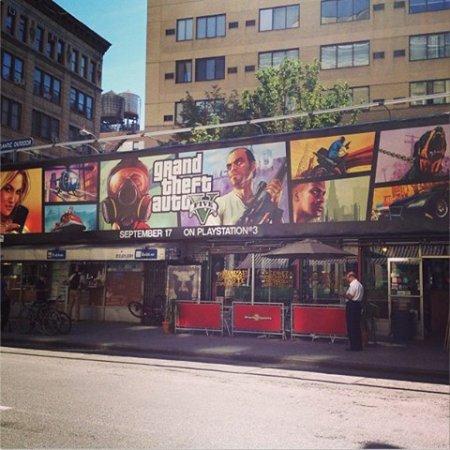 Нова реклама GTA 5 в Нью-Йорку та Лос-Анджелесі