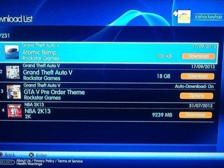 У PSN з'явилася можливість завантажити GTA 5