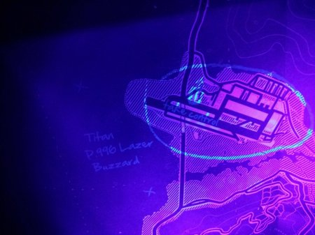Секрети GTA 5 позначені на друкованій мапі з колекційного видання