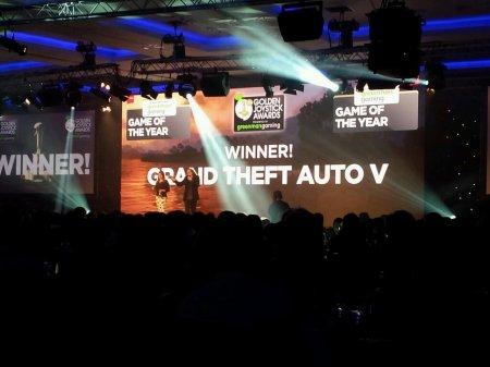 GTA 5 - гра року, за версією Golden Joystick Awards 2013!