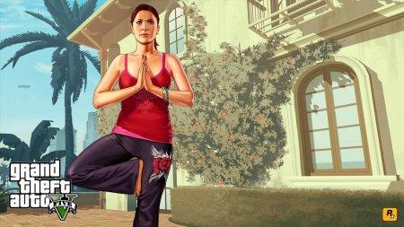Нові арти GTA 5 - Майкл з дружиною розслабляються