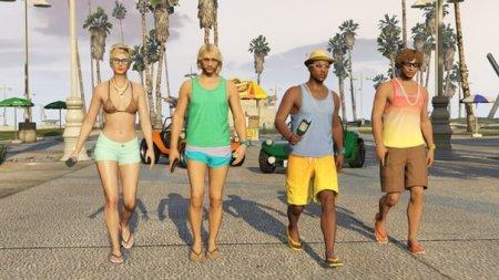 Пляжне неробство в GTA Online: перший DLC вже в вівторок!