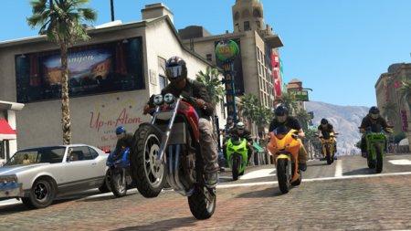 Імпровізовані гонки у GTA Online