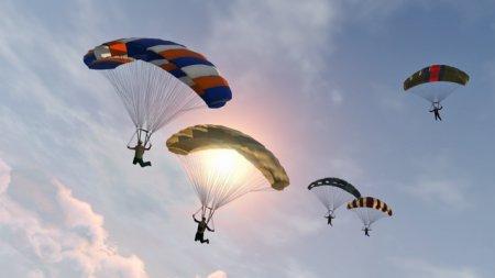 GTA Online: Parachuting
