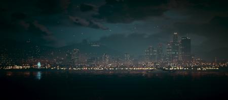 Лос-Сантос вночі