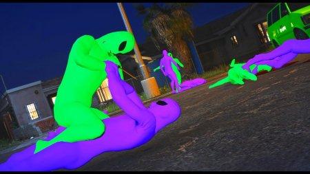 У GTA Online розгорнулася війна прибульців