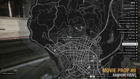 Де знайти всі 10 реквізитів зі зйомок фільму в GTA Online і розблокувати костюм «Прибулець з космосу»