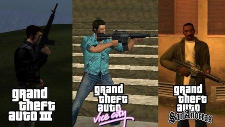 Чутки про ремастеринг GTA 3, Vice City та San Andreas