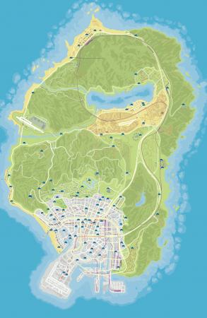 Експорт автомобілів в GTA Online - карта рідкісного транспорту та поради з пошуку